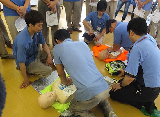 職場の救急対応システムを構築するために